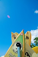 Surfboards, Hawaii