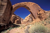 Lake Powell, Rainbow Bridge, Utah (thumbnail)