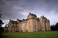 Fyvie Castle, dating from the 13th_century, near Inverurie, Aberdeenshire, Scotland, United Kingdom, Europe