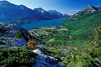 Waterton village, Waterton NP, Alberta (thumbnail)