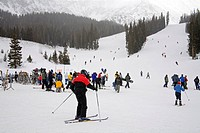Arapahoe Basin Ski Resort, Rocky Mountains, Colorado, United States of America, North America