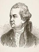 Edward Gibbon 1737 - 1794  English rationalist, historian and scholar  From The National and Domestic History of England by William Aubrey published L...