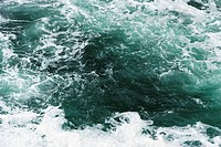 Choppy sea water, close-up