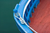 Boat moorings, close-up (thumbnail)