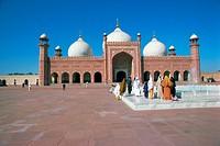 Badshahi mosque, Lahore, Punjab, Pakistan, Asia