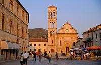 St Stephen´s cathedral, Hvar, Hvar Island, Croatia