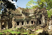 Prah Khan temple is another that is part of the complex of Angkor UNESCO heritage site