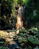Diamond Falls, St. Lucia, Windward Islands, Caribbean, West Indies, Central America