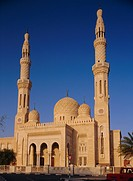 Jumeira Mosque, Dubai, United Arab Emirates, Middle East, Africa