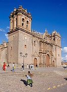The cathedral in Cuzco, Peru, South America