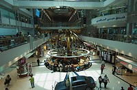 The Duty Free area at Dubai International Airport, Dubai, United Arab Emirates, Middle East
