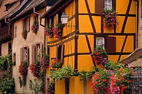 Turckheim, Alsace, France, Europe