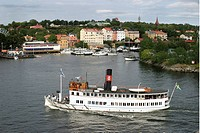 Segelbåtar I Bohuslän, Boat In Sea In Stockholm, Elevated View