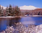 Loch Iubair in winter, near Crianlarich, Central Region, Scotland, UK, Europe