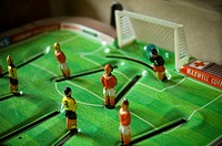 Old table football