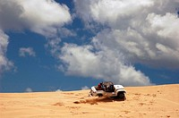 Sand dunes, Rio Grande do Norte, Brazil