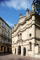 Kazimierz historic district,Tempel Temple Synagogue,former Jewish Quarter,Cracow, Krakow,Poland
