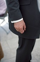 Man in a Suit and Wedding Ring on his Finger _ Bridegroom