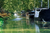Brienne Canal, Toulouse, Haute_Garonne, Midi_Pyrenees, France, Europe