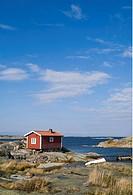Ut_Fredel, Stockholms Skärgård, Stockholm, Cottage Against Sky