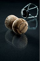 Champagnekork, Champagne Cork, Close_Up