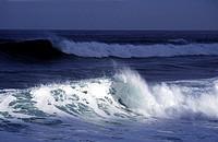En Våg Bryter Mot Stranden, Sea Waves