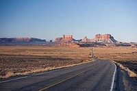 Highway 163, Monument Valley, Utah, United States of America, North America