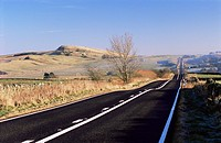 Roman Road, Sunny Rigg to east, Northumberland Northumbria, England, United Kingdom, Europe