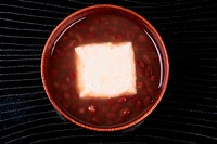 Bowl Of Zoni With Red Beans