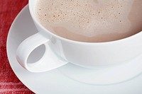 Cup of cappuccino close_up