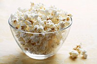 Bowl of popcorns