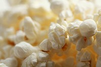 Close_up of popcorn