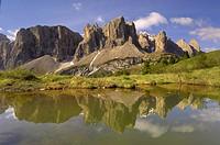 Sella Gruppe, Dolomites, Italy, Europe