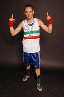 vincenzo picardi boxer,photo paolo bona/markanews
