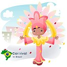 sightseeing, carnival, national flag, map, tourism, brazil