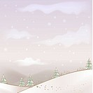 hill, season, snowing, snow, winter, mountain, background
