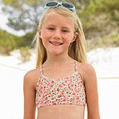 Girl 6_8 on beach with sunglasses