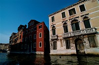 Buildings By Canal
