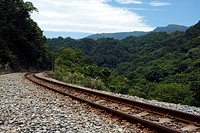 Railway tracks, Ping Si, Taiwan