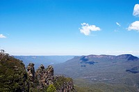Three Sisters in Blue Mountain, Australia (thumbnail)