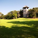 Lookout tower at park in Bald Head Island, North Carolina (thumbnail)