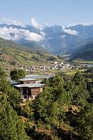 Punakha, Bhutan, Himalayas, Asia