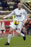 philippe senderos,bologna 2009,serie a football championship 2008_2009,bologna_milan
