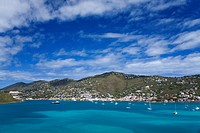 City of Charlotte Amalie, St. Thomas Island, U.S. Virgin Islands, West Indies, Caribbean, Central America