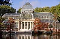 Crystal Palace, Retiro Park, Madrid, Spain, Europe