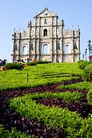 10852459, Asia, China, Macau city, Macao, St.Paul'