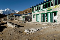 10855495, Trekking Lodge in Gokyo, Cho Oyu, Sagarm