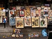 Boklåda I Paris, Vänstra Stranden., Bookshop In Market