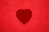 Love Heart In Red