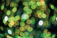 Green Speckles Of Light